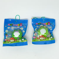 Ceamiicandy Animelliis Froggie Meets Marshmellii Squishy both versions in packaging