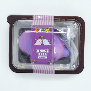 Puni Maru Grape Mochi Seals Mini and Jumbo Seal Squishy