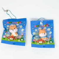 Creamiicandy Animellis Marshmellii Meets Shiba Puppy Squishy both styles in packaging