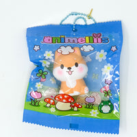 Creamiicandy Animellis Marshmellii Meets Shiba Puppy Squishy open eye version in packaging