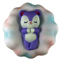 iBloom Cloud Bear Squishy Mony version front view