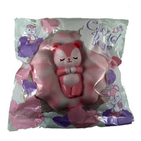 iBloom Cloud Bear Squishy Fannie version front view in packaging