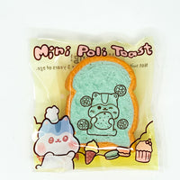 Mini Bread Toast Squishy Sweet Series Poli Hamster Squishy