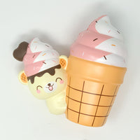 Yummiibear Hugging Ice Cream Cone from Creamiicandy
