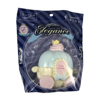 Cafe De N Elegance Pumpkin Carriage Cake blue front view in packaging