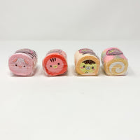 Mini Yummiibear, Marshmellii, Cotton Candy Kitty and Rainbow Cake Roll Squishies