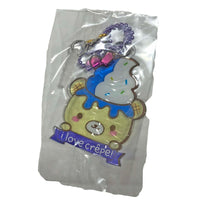 Creamiicandy Yummii Crepe Squishy blueberry's version tag