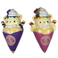 Creamiicandy Yummii Crepe Squishy both versions front view