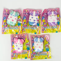 iBloom Harajuku Bear Ice Candy Squishy all 5 styles in packaging