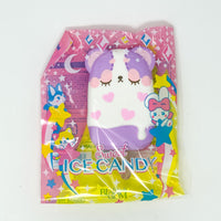 iBloom Harajuku Bear Ice Candy Squishy galaxy version front view purple version in packaging