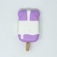 iBloom Harajuku Bear Ice Candy Squishy galaxy version rear view purple version