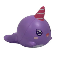 iBloom Millie the Whale Sparkling Eyes Squishy Roxy Version side view