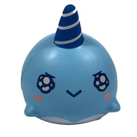 iBloom Millie the Whale Sparkling Eyes Squishy Billie Version front view