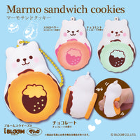 Pre-Order iBloom Marmo Marshmallow Bear Sandwich Cookie Squishy