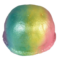 iBloom Jumbo Biscuit Bread Squishy Rainbow version side view
