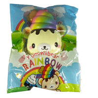 Creamiicandy Rainbow Yummiibear Squishy front view in packaging