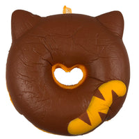 Cafe Sakura Cat Donut Squishy brown cat rear view