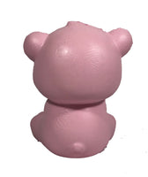 Puni Maru's Mini Happy Polar Bear Squishy Pink Open Mouth Version rear view