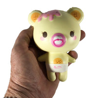 Creamiicandy Baby Yummiibear Squishy girl versions front view held in hand