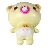 Creamiicandy Baby Yummiibear Squishy girl versions bottom view