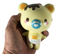 Creamiicandy Baby Yummiibear Squishy boy versions front view held in hand