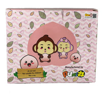 Baby Peach Squishy display box back