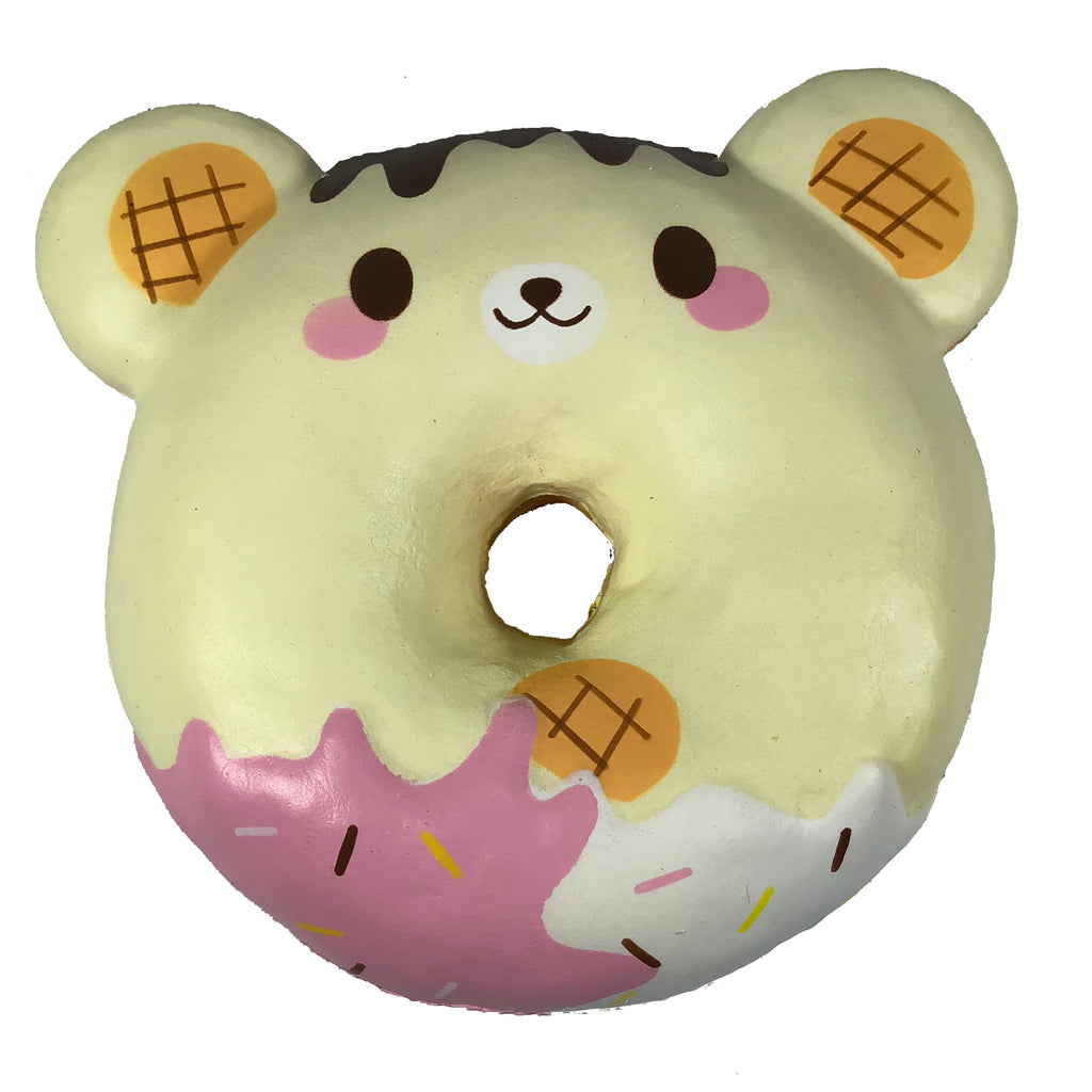 Puni Maru Animal Donut Squishy Featuring Cheeki Cheeka