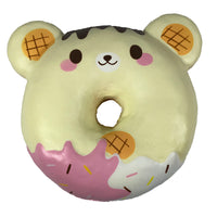 Puni Maru Animal Donut Squishy Featuring Yummiibear front view
