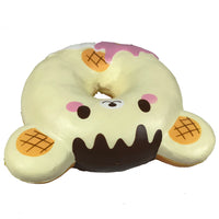 Puni Maru Animal Donut Squishy Featuring Yummiibear top  view