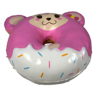 Puni Maru Animal Donut Squishy Featuring Cheeka bottom  view