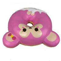 Puni Maru Animal Donut Squishy Featuring Cheeka top view
