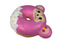Puni Maru Animal Donut Squishy Featuring Cheeka side view