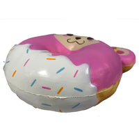 Puni Maru Animal Donut Squishy Featuring Cheeka botton 45 degree angle  view