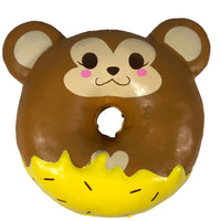 Puni Maru Animal Donut Squishy Featuring Cheeki front view