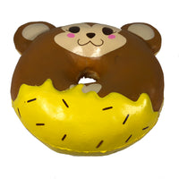 Puni Maru Animal Donut Squishy Featuring Cheeki bottom view