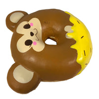 Puni Maru Animal Donut Squishy Featuring Cheeki side view