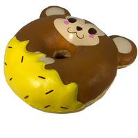 Puni Maru Animal Donut Squishy Featuring Cheeki 45 degree angle view