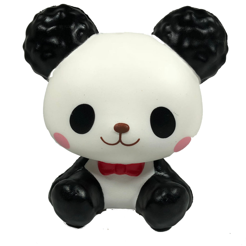 ibloom Cotton Candy Panda Squishy Shanti version front view