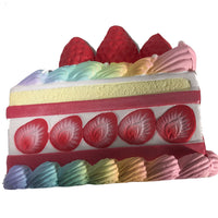 iBloom Princess Shortcake Squishy Rainbow version side view