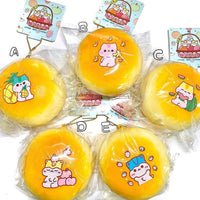 Jumbo Poli Bread Fruity Bun Squishy