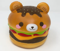 Big Yummiiburger Squishy open eyes version front view
