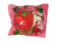 Creamiicandy Yummibear Hug Strawberry Squishy front view  in packaging