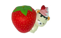 Creamiicandy Yummibear Hug Strawberry Squishy