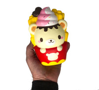 Yummiibear Fries Squishy by Creamiicandy front view held in hand