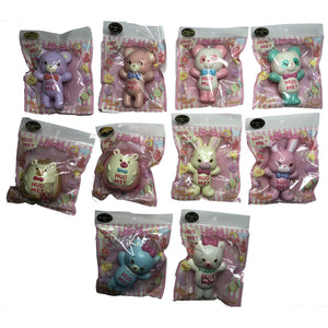 Domiel HUG ME Squishy all 10 varieties in packaging