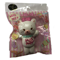 Domiel HUG ME White Cat front view in packaging