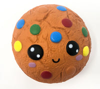 Kawaii Cookie Squishy with Smiling Face