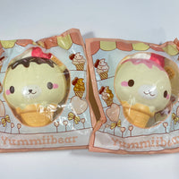 Yummiibear Rare Head Ice Cream Cone Squishy