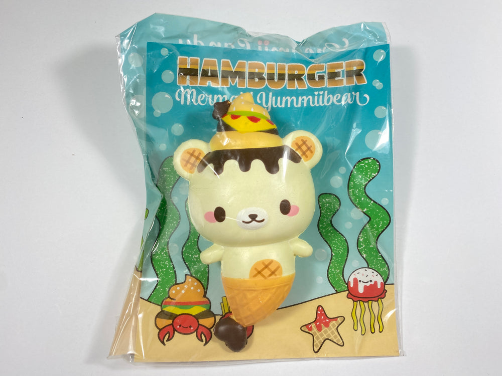 Yummiibear Hamburger Mermaid Squishy