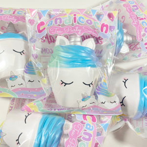 Bunny's Cafe Candicorn Galaxy Cupcake Squishy